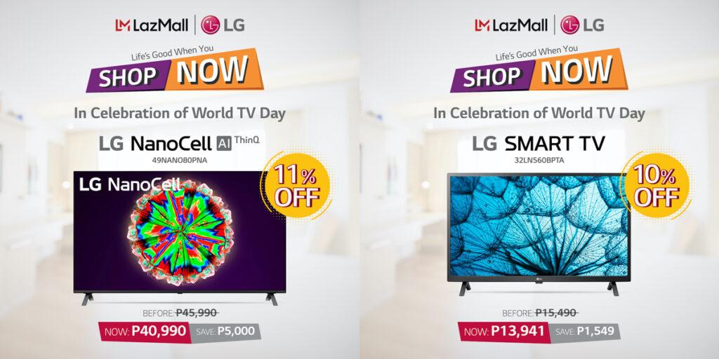 LG Celebrates World TV Day
