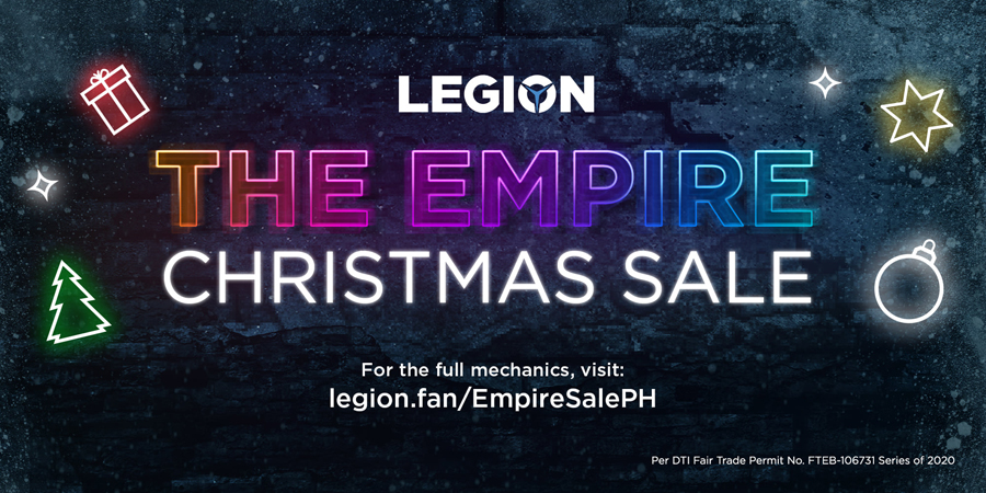 Lenovo Legion drops new normal holiday gaming gift guide