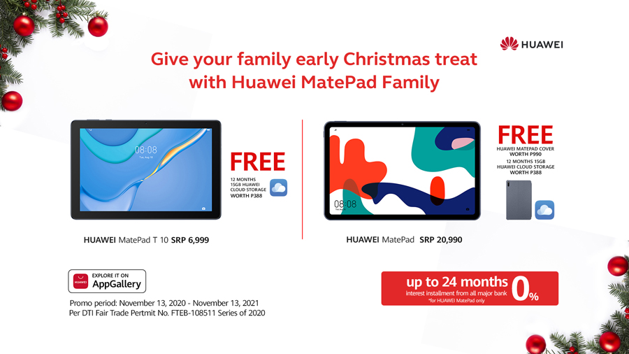 Family Fun and Productivity with Huawei's #BestMates!