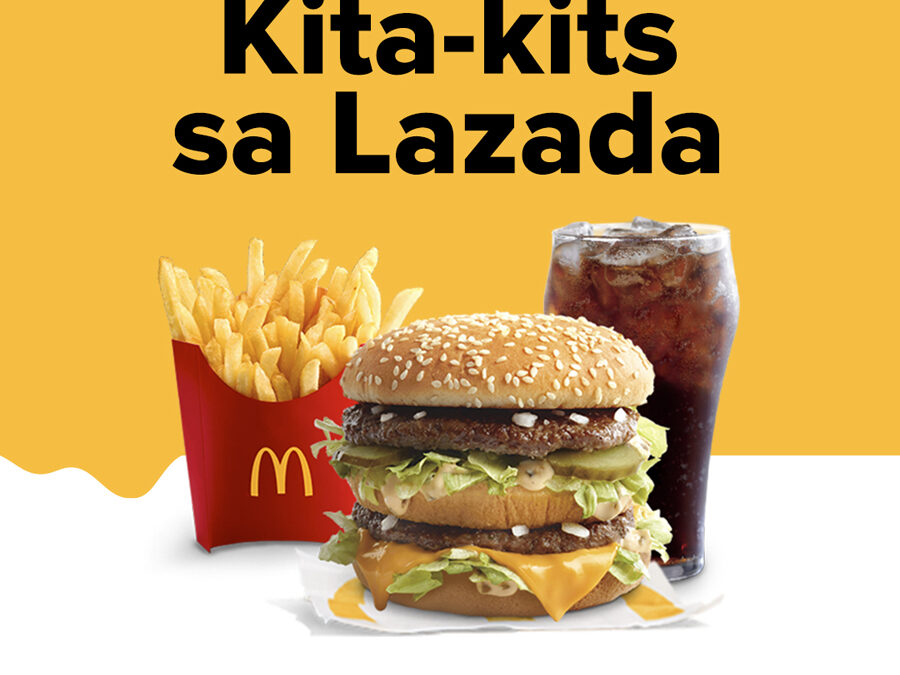 Add to cart McDonald's food and merch, now available in LazMall!