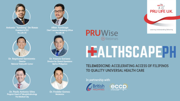 Pru Life UK continues its health dialogue series on telemedicine with partners from the government and health sector