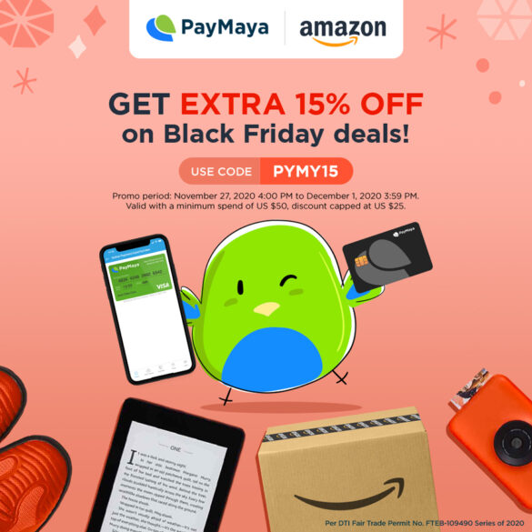 PayMaya teams up with Amazon.com in major milestone for Philippine customers