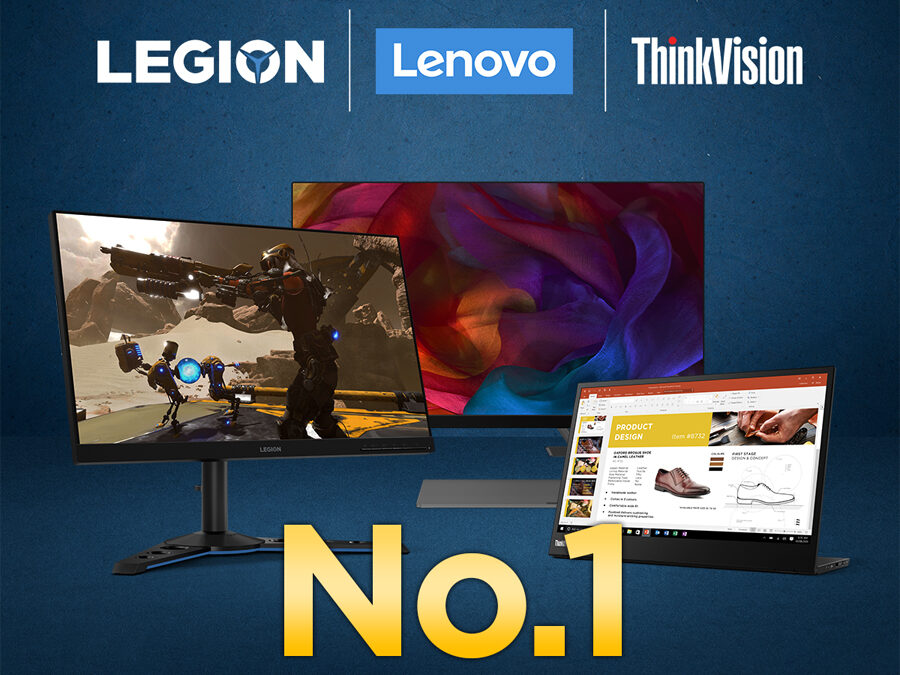 Lenovo named as top monitor brand in the Philippines