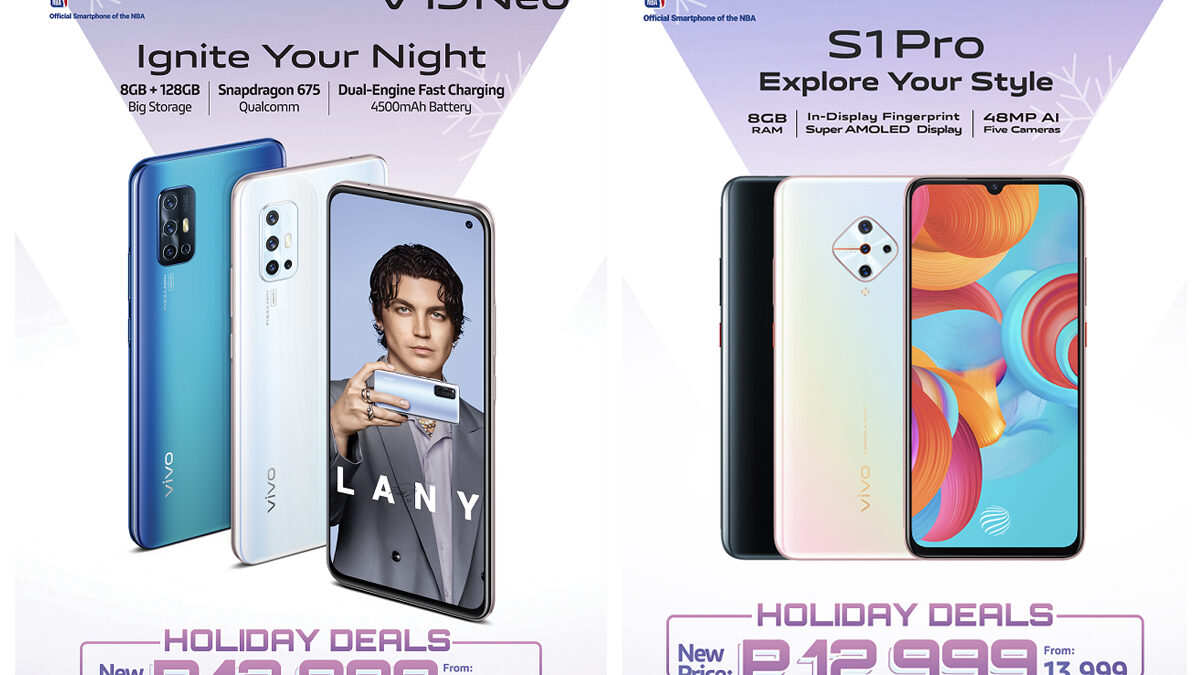 Price Drop Holiday Deals with vivo V19 Neo and vivo S1 Pro