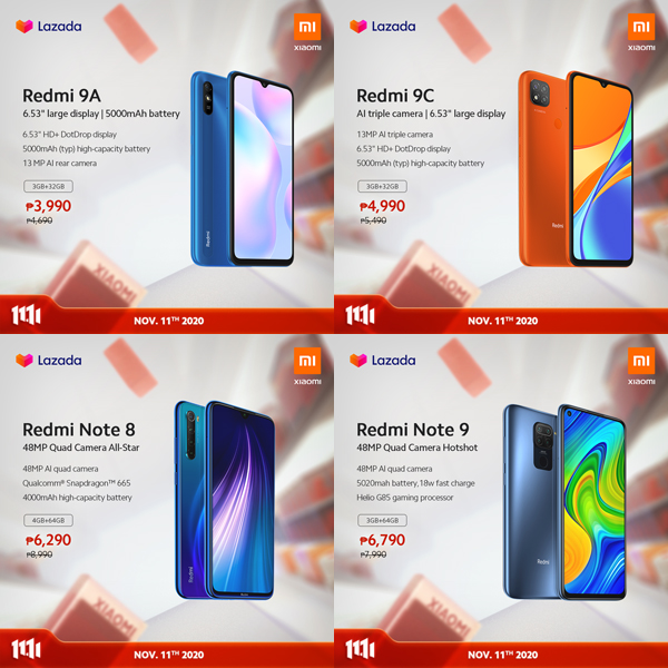 Xiaomi 11.11 great deals on e-commerce platforms