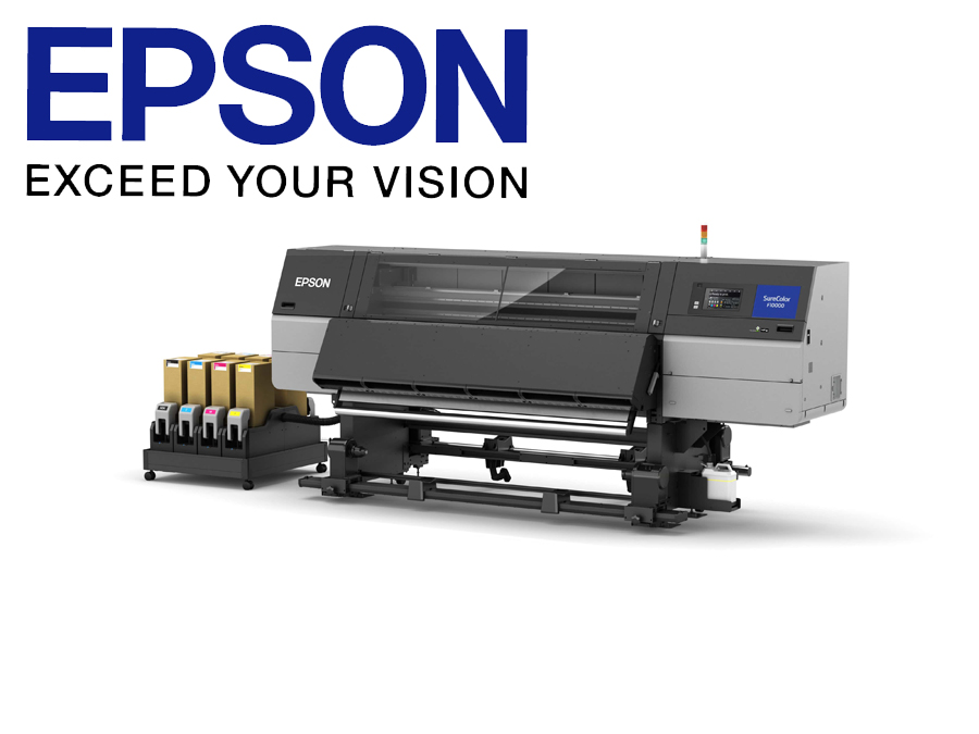 Epson launches first 76-inch Industrial Dye Sublimation Textile Printer to deliver highest quality output for businesses with higher printing demands