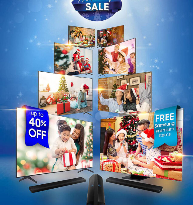 Ring in the holidays with a Samsung TV