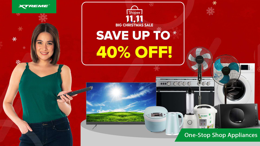 Discounts up to 40% off Are up for Grabs in This Xtreme Appliances 11.11 Sale Event