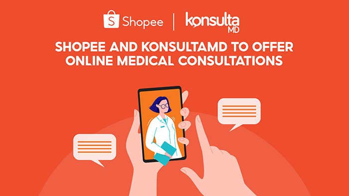Shopee Partners with KonsultaMD to Offer Filipinos Online Medical Consultations