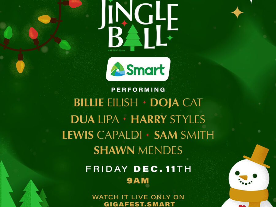 Smart brings 2020 iHeartRadio Jingle Ball to subscribers via exclusive livestream on Dec. 11