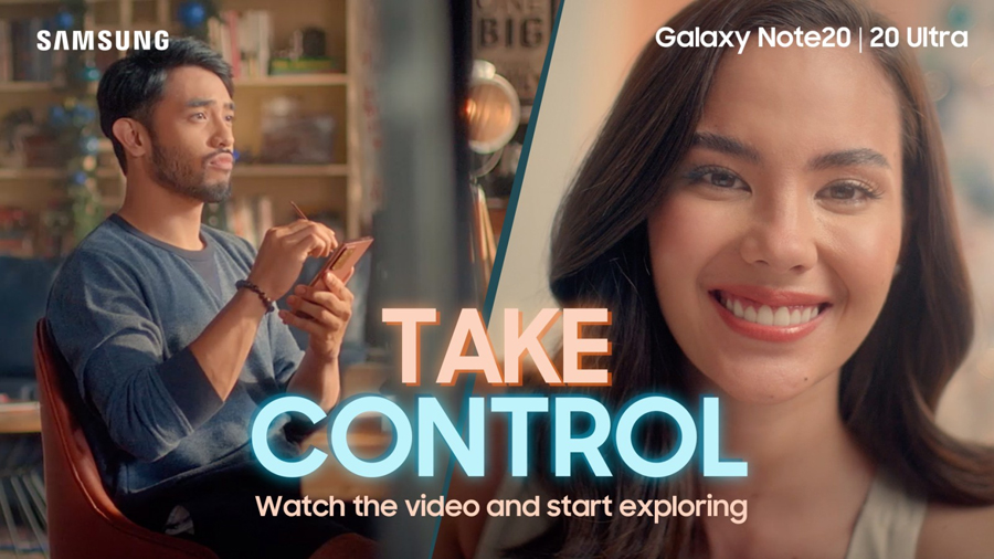 WATCH AND PLAY: This interactive video lets you decide for Paolo as he uncovers possibilities with the Galaxy Note20 Series