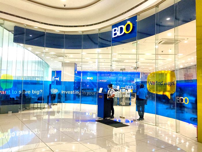 BDO mall-based branches now open on Saturdays