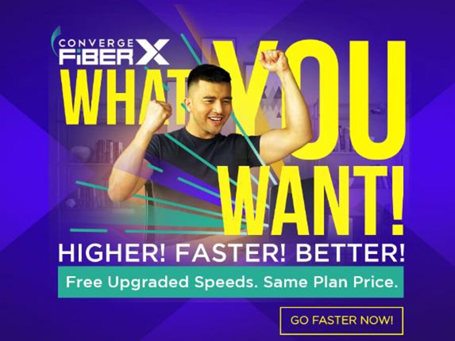 Converge Celebrates 1M Subscribers Milestone with Stronger Commitment to Reliable Internet, Gives Free Speed Increase of up to 300 Mbps