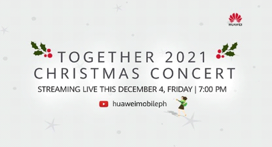 Huawei Together 2021 Online Event to Draw People Closer Through Music and Innovation