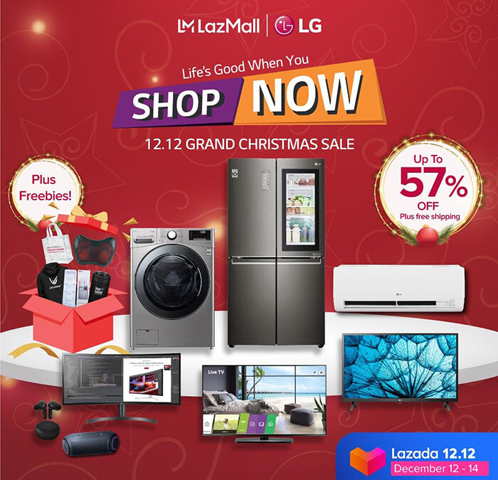 LG Lets You Do Your Holiday Shopping from Home on 12.12