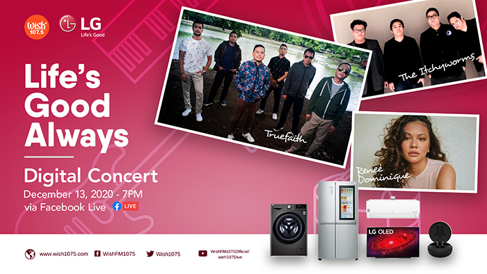 For the online Grand Christmas Sale on 12.12, LG will be offering a wide variety of LG products that are perfect gift ideas for the festive season.