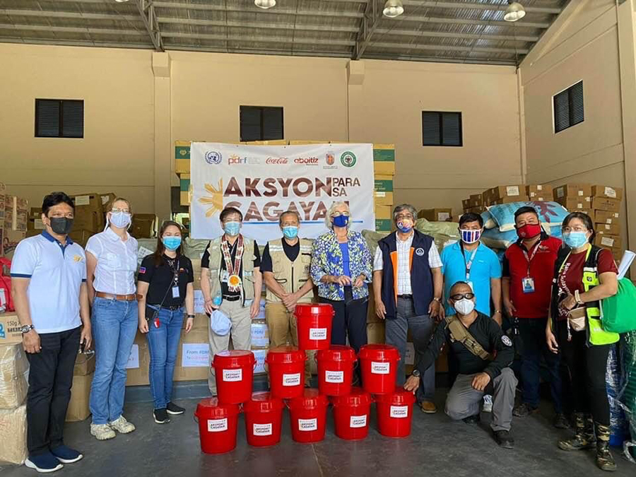 PDRF mobilizes private sector to deliver aid to Ulysses-torn Cagayan