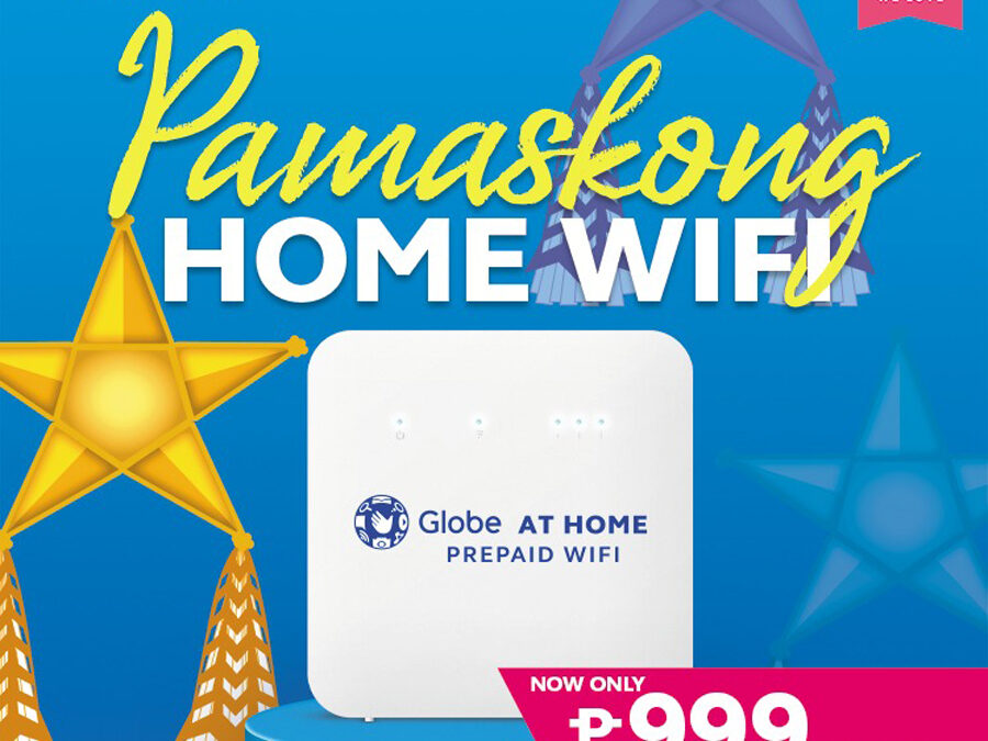 Connectivity is the best gift this Christmas with Globe At Home WiFi