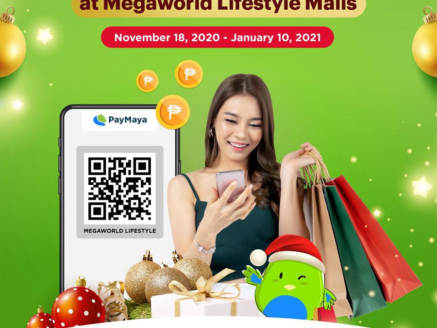 Enjoy the most rewarding holiday shopping with PayMaya and Megaworld