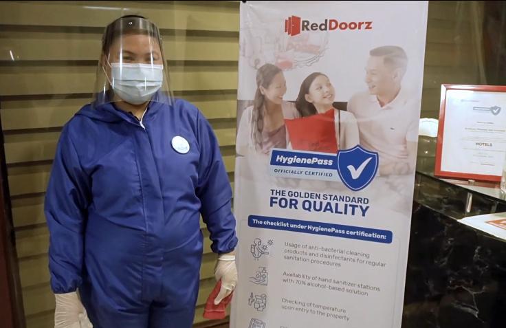 RedDoorz HygienePass-Certified Hotels assure local travelers of worry-free stay