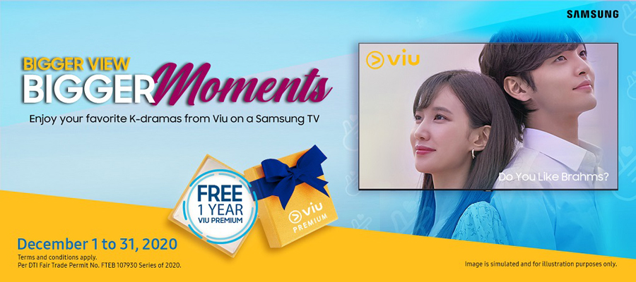 Take your K-drama viewing experience to the next level with a Samsung TV