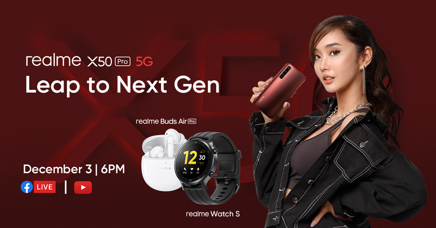 Speed of the Future: realme X50 Pro 5G to launch via Smart Signature Plan on December 03