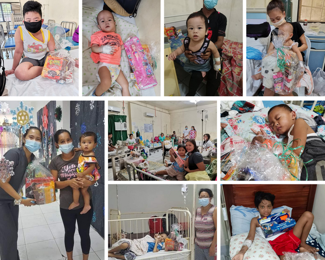 AIRFUNDING, Makes Christmas Memorable for Sick Children in Central Luzon through Christmas Gift-giving Project