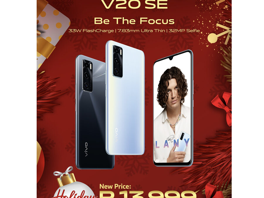 vivo V20 SE gets P2000 discount with vivo holiday deals