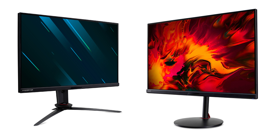 Acer Boosts Predator and Nitro Gaming Monitor Portfolio with Three New High Refresh Rate Models