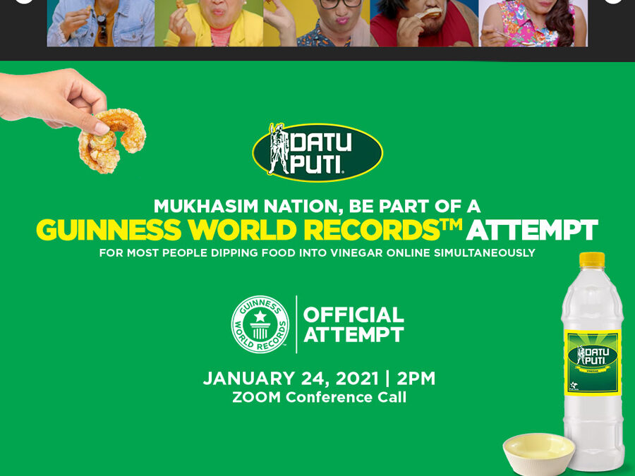Start the New Year Strong by Setting a New GUINNESS WORLD RECORDS title with Datu Puti!