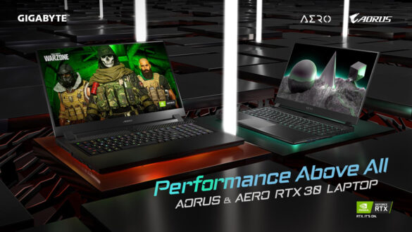 GIGABYTE Unveils New Notebook Lineup Upgraded with NVIDIA GeForce RTX 30 Series Laptop GPUs