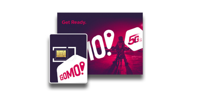 Buy the GOMO SIM with 256GB No Expiry on Shopee for only P299
