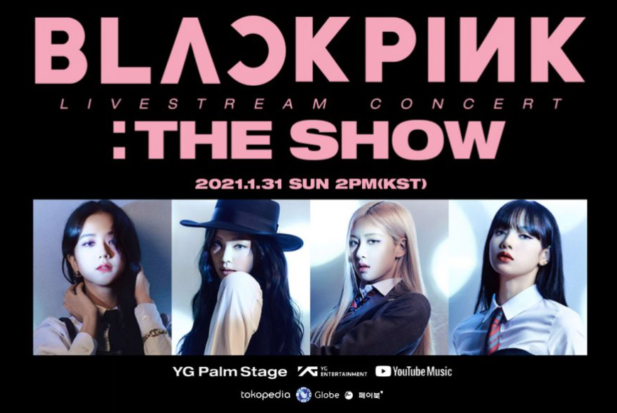 In 2021, Globe and BLACKPINK bring you the reinvented concert experience. Catch the Globe Telecom: YG PALM STAGE - 2021 BLACKPINK: THE SHOW on YouTube on January 31, 2021 at 2pm (KST).