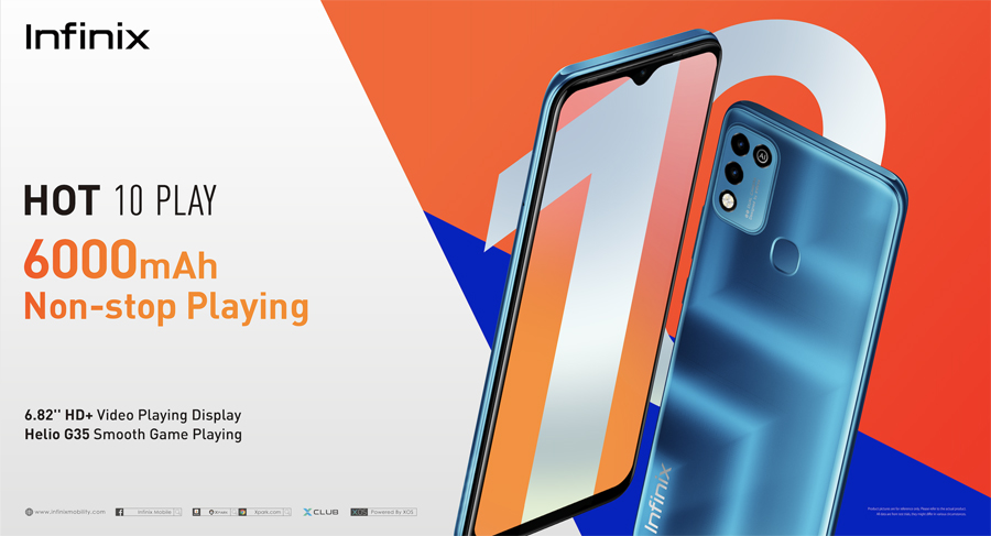 Infinix introduces HOT 10 PLAY in the Philippines