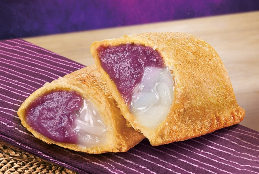 Jollibee continues to satisfy sweet cravings with the new Ube Macapuno Pie