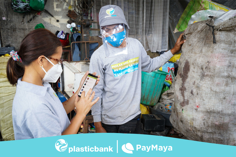 Communities go plastic-free and cashless with Plastic Bank and PayMaya