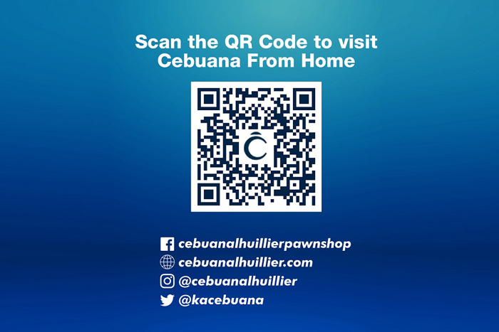 Cebuana Lhuillier's services can now be done from home