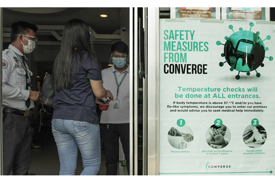 Converge reinforces commitment to employee, customer safety