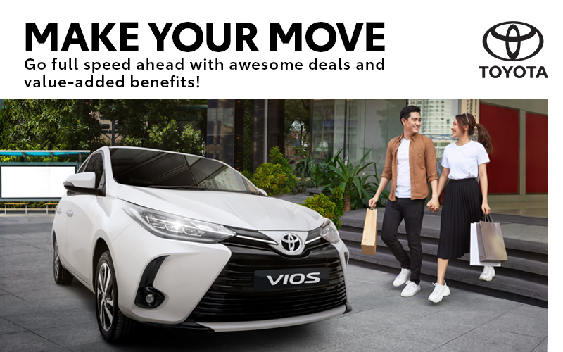 February is the month to Make your Move on a new Toyota