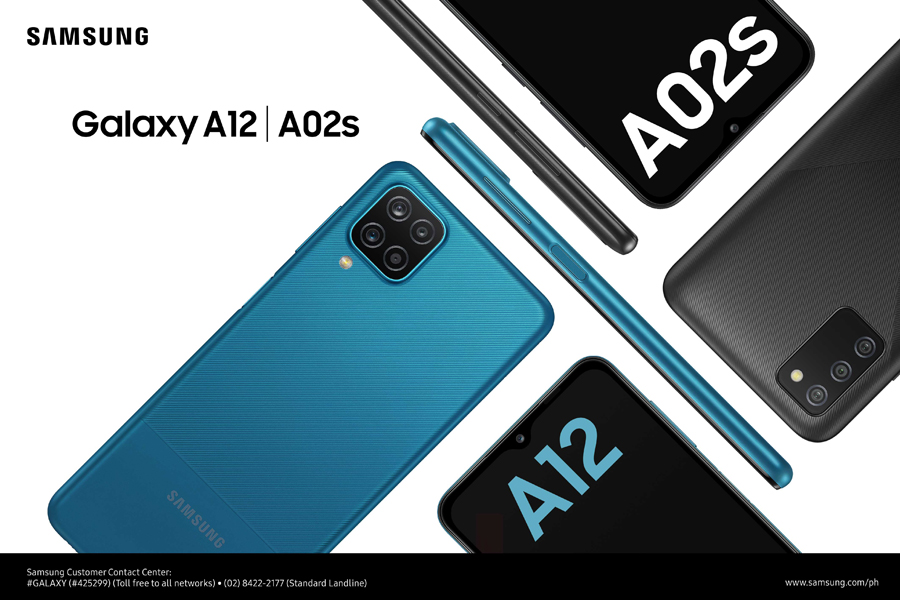 Create more for less with the new SAMSUNG Galaxy A12 and A02s