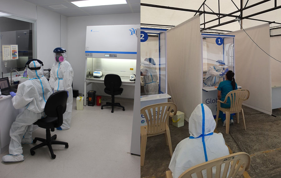 #GlobeofGood: Globe builds own COVID-19 testing facility to support employees
