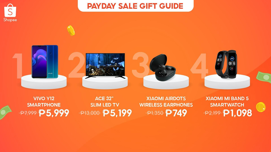 It's Finally Payday! Splurge on these Products and more at Shopee's Payday Sale and Enjoy Discounts up to 90% off!