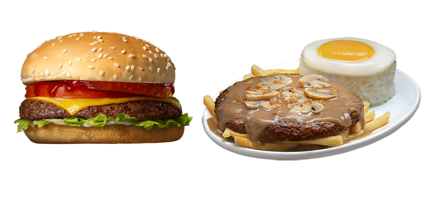 Jollibee's Champ and Ultimate Burger Steak are now available in more stores nationwide