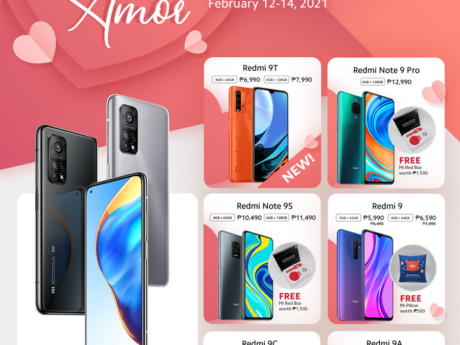 Get a treat from Xiaomi this Love Month with the Mi Amor Valentine's Day Promo