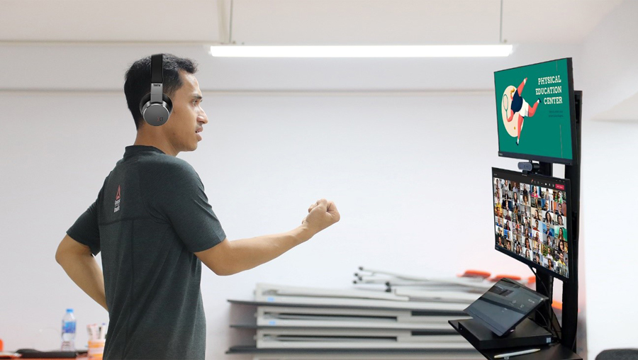 Lenovo's EdVision empowers educators to expand online teaching capabilities