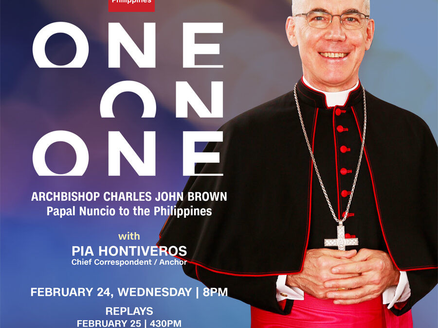 Pia Hontiveros' One-On-One with Vatican's Envoy to the Philippines, Archbishop Charles John Brown
