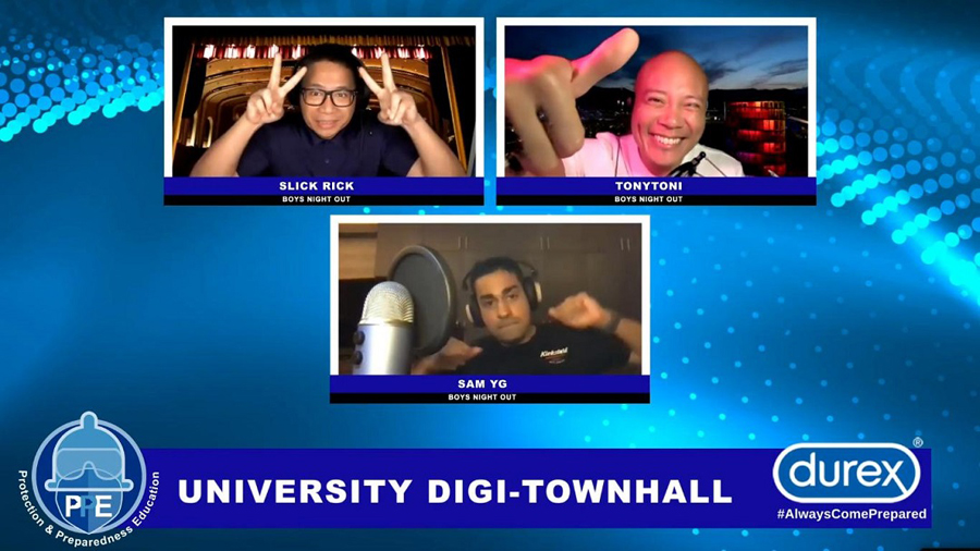 Durex University Digi-Townhall: bringing the timely message of Protection and Preparedness Education Online