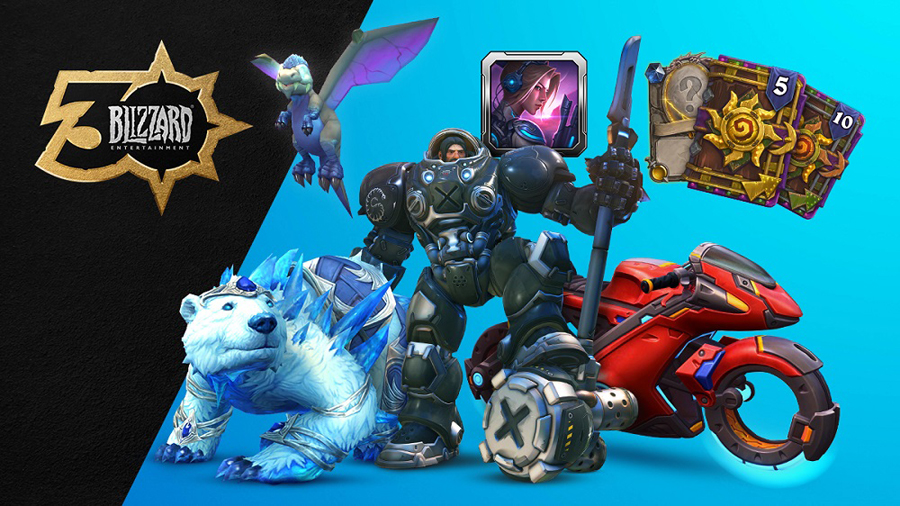 Blizzard Entertainment's Global Community to Gather Virtually at BlizzConline February 20-21