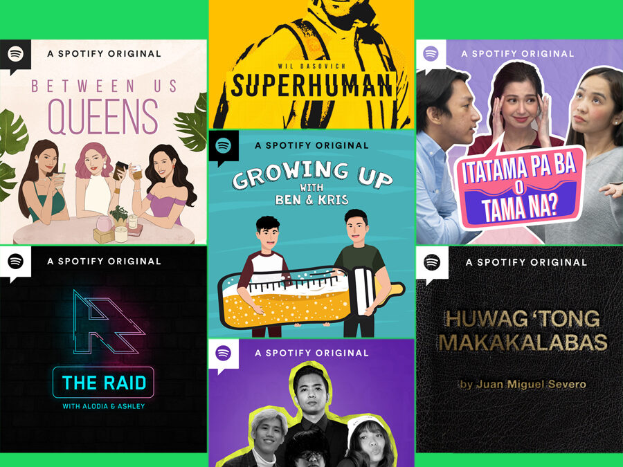 Spotify expands its Pinoy Podcast offering by introducing a star-studded line up of Original podcasts