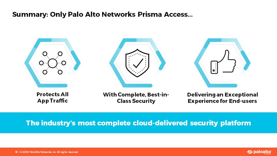 Palo Alto Networks Introduces Prisma Access 2.0, the most complete cloud-delivered platform for securely enabling today's remote workforces